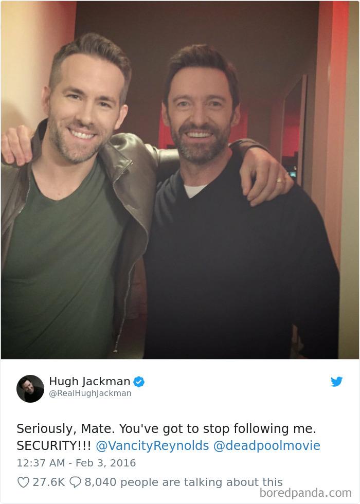 Su amor por Hugh Jackman está fuera de control