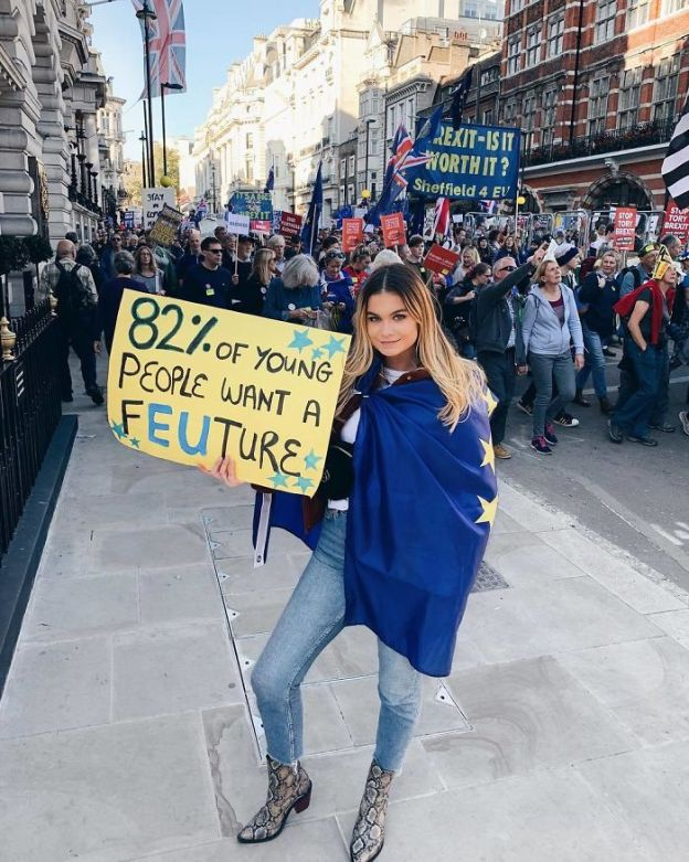 BpKX-Iqhwv8-png__700 25+ Of The Funniest Signs From The Anti-Brexit March Design Random