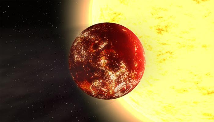 55 Cancri E - Um Planeta Diamante