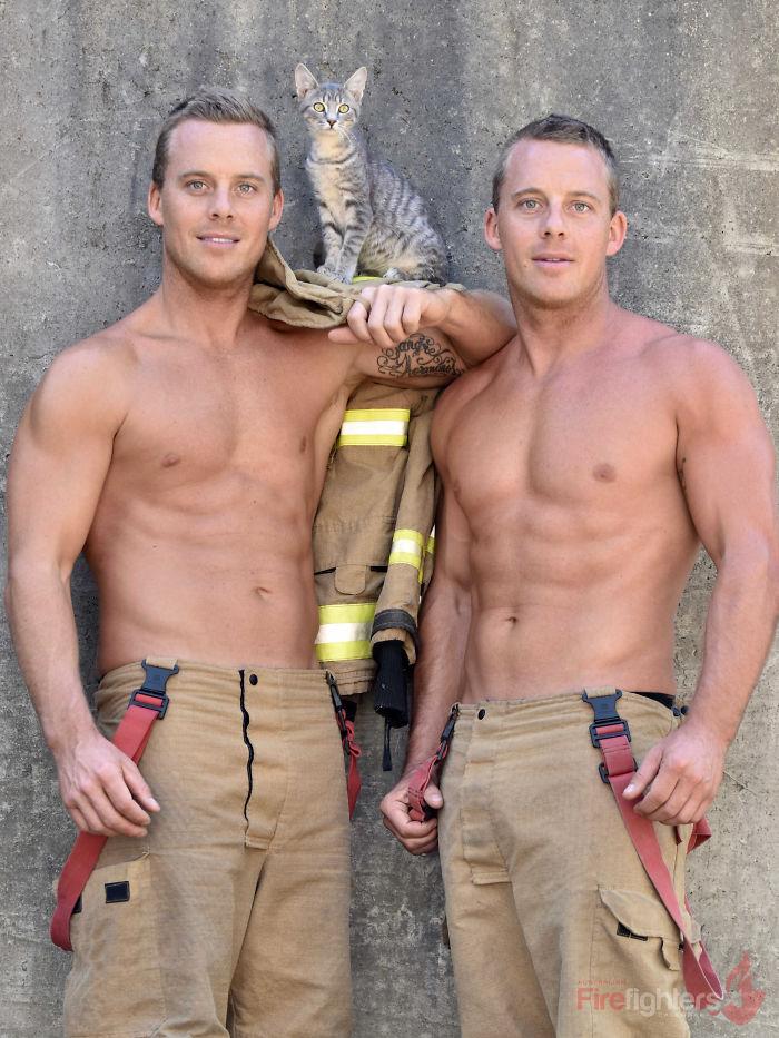 El calendario de los bomberos australianos 2019 ya se ha anunciado y esta caridad es muy hermosa de ver