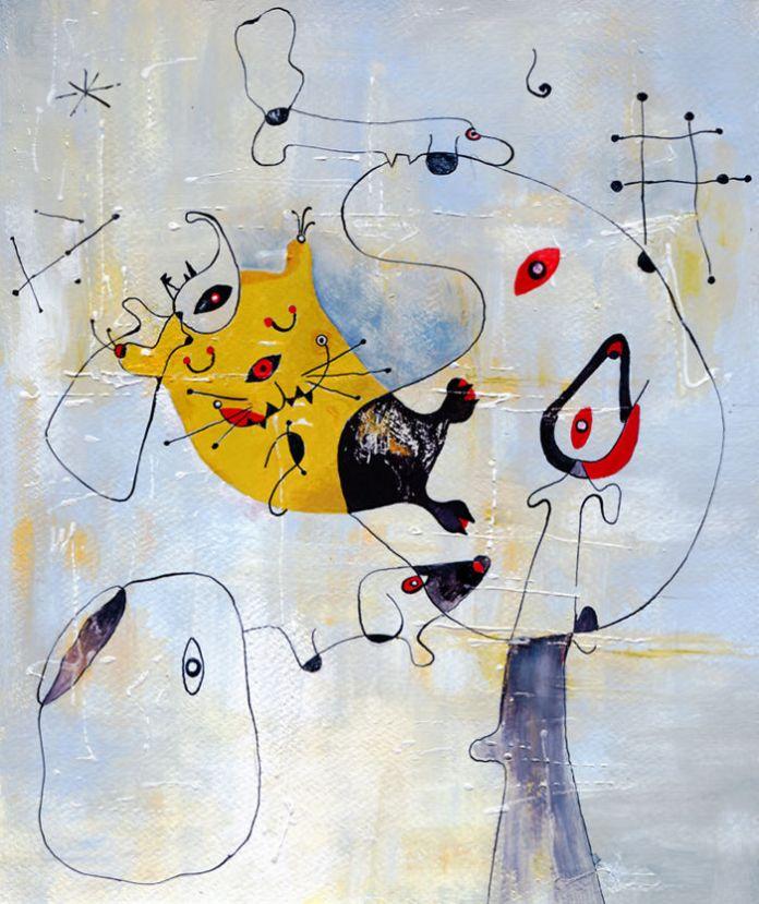 Inspired By Joan Miro
