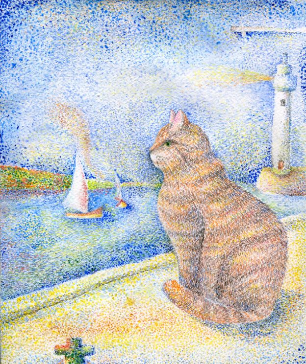 cat6_big-5bbc5360a1981__700 I Challenged Myself To Paint 12 Cats In Different Art Styles Art Design Random
