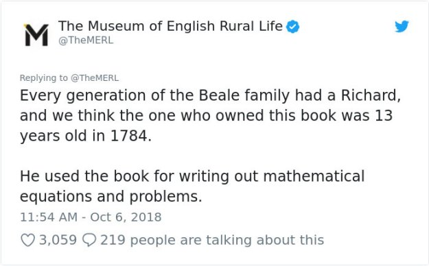chicken-trouser-mystery-museum-english-rural-life-8-5bc0542293a2e__700 This 234-Year-Old Math Book Found By History Museum Is So Fascinating That Even J. Ok. Rowling Responded Design Random