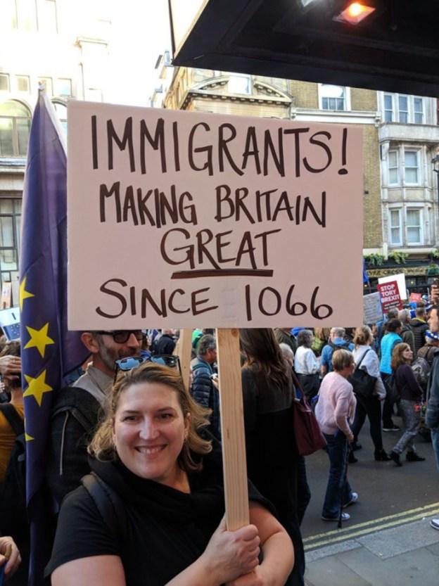funny-anti-brexit-protest-signs-london-103-5bcd8430697f7__700 25+ Of The Funniest Signs From The Anti-Brexit March Design Random