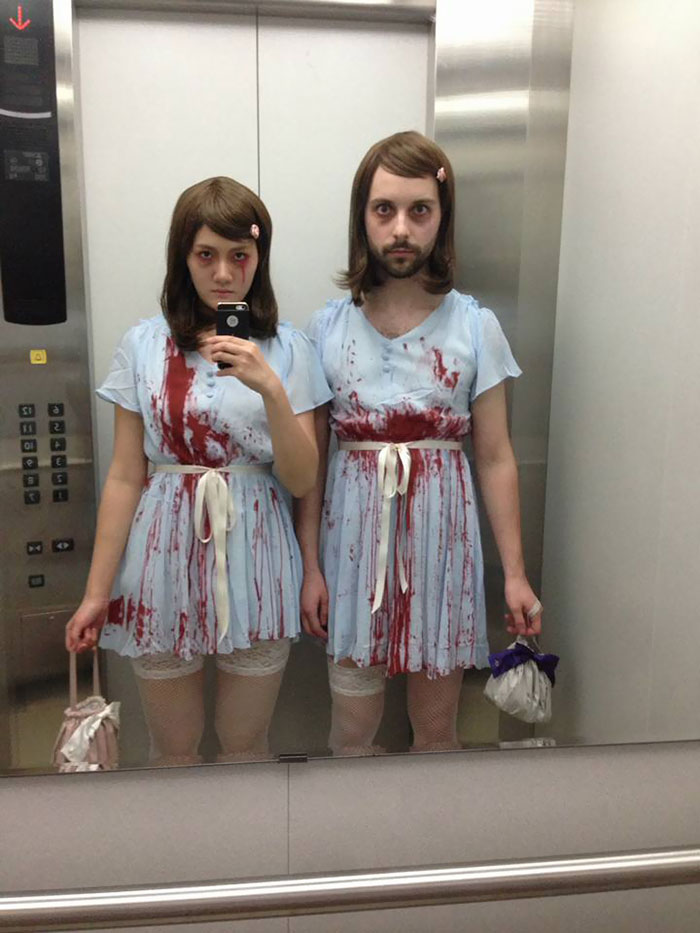 My Girlfriend And I Attempted Our First Couples Costume This Halloween. I Think We Did A Pretty Good Job With It