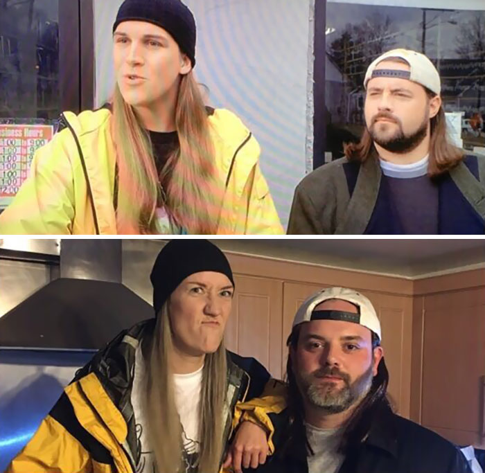 Me And My Girlfriend As Jay And Silent Bob For Halloween