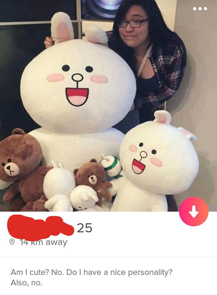 Tengo que apreciar los perfiles honestos de Tinder