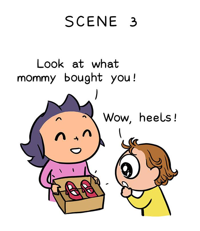 How-a-2-años de edad- cómo puede hacerte daño a los comics-22