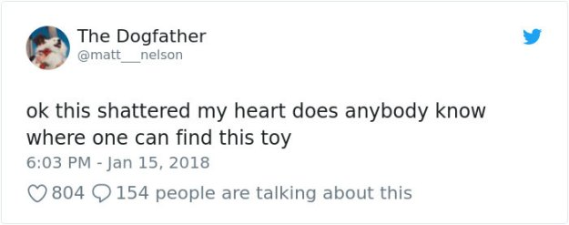 tweet1-5bcec3259534c__700 Pet Store Discontinues The Only Toy This Elderly Dog Plays With So Owner Asks Help From The Internet Design Random