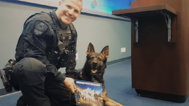 vancouver-police-department-charity-dog-calendar-2019-19-5bd16ef5a3653__700 Vancouver Police Canine Unit Just Released Their 2019 Charity Calendar And It's Badass Design Random