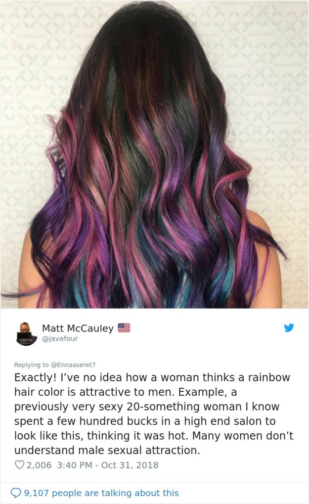 1057658668123021314-png__700 This Woman Had The Best Comeback Ever To A Man Who Said To Stay Away From Women With Dyed Hair Design Random