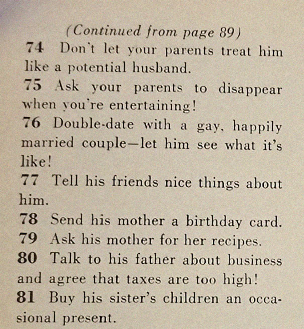 9image-5be14eca12b7b__605 This '129 Ways to Get a Husband' Article From 1958 Shows How Much The World Has Changed Design entertainment Random
