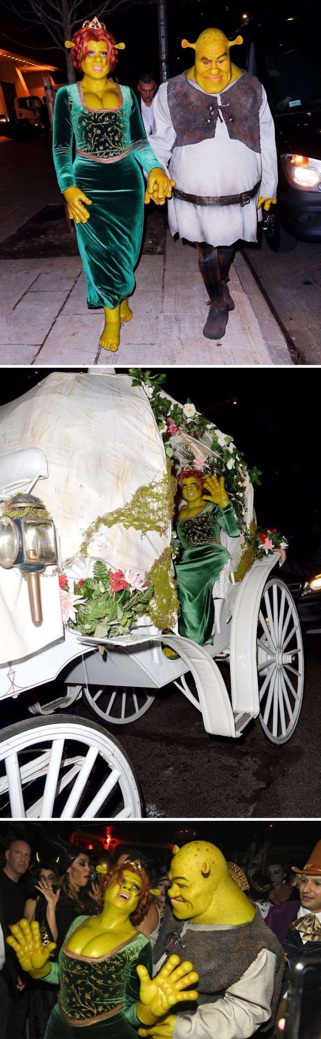 Heidi Klum como la princesa Fiona
