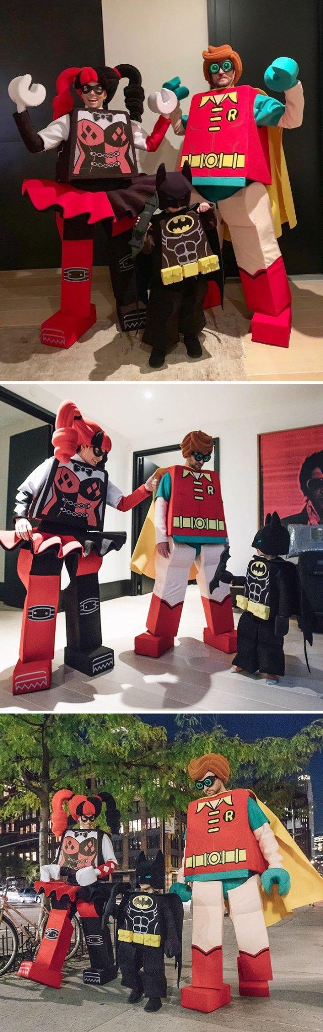 Justin Timberlake, Jessica Biel y su hijo Silas como protagonistas de Batman Lego