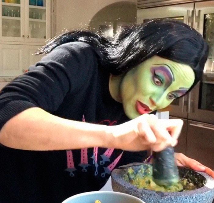 Jennifer Garner Made Guacamole As Elphaba