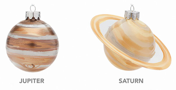 christmas-tree-decorations-planet-glass-ornaments-3-5be04463cefc7__605 Planetary Glass Ornaments Are A Thing And They're Out Of This World Design Random