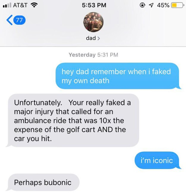 dad-5c00e5f56978e__700 This Girl's Story Of How She Hit Someone's Car And Pretended To Be Dead Is Going Viral On Twitter Design Random