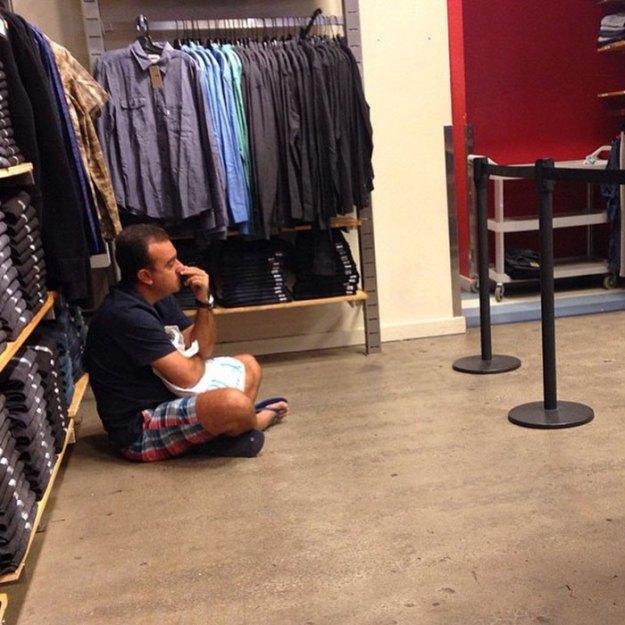 funny-miserable-men-shopping-photos-28-5bff9c112662b__700 86 Funny Photos Of Men Shopping With Their Ladies Design Random