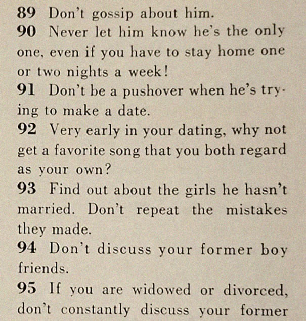 how-to-get-men-1950s-dating-article-magazine-mccalls-5be1544ab708a__605 This '129 Ways to Get a Husband' Article From 1958 Shows How Much The World Has Changed Design entertainment Random