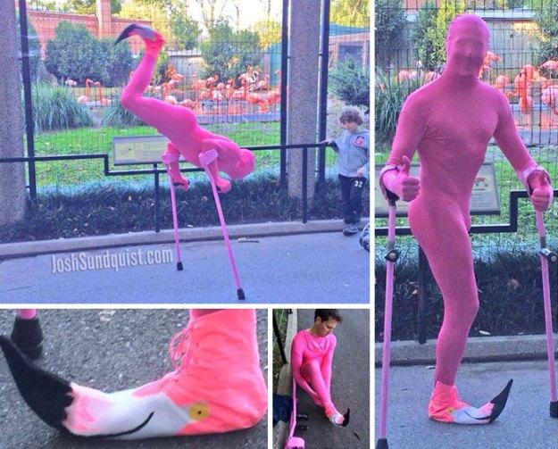 one-legged-amputee-halloween-costume-josh-sundquist-5bdab39910852__700 Every Halloween This One-Legged Guy Makes An Epic Halloween Costume, And He Just Revealed His 2018 Costume Design Random