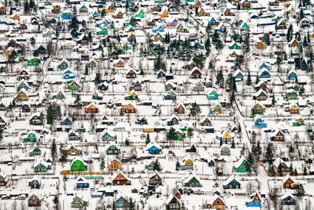 Casas de juguete, Rusia (1º en Architecture & Urban Spaces)