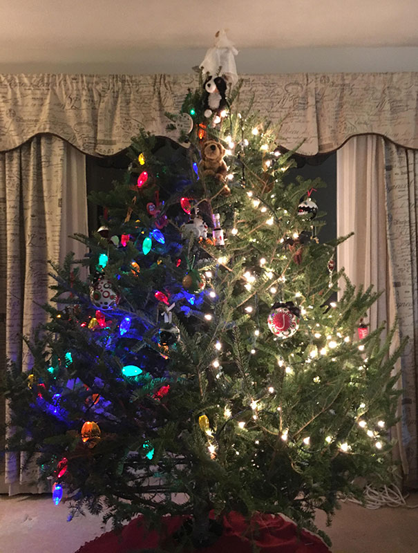 When You Don't Agree On How To Decorate A Tree