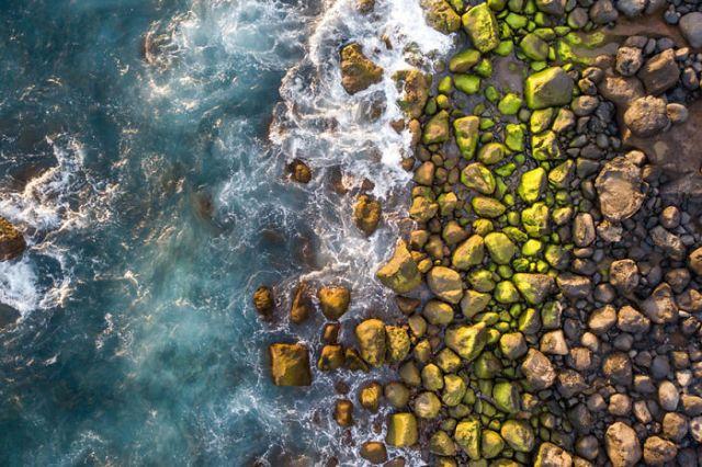 Costa rocosa, por Dronecopters