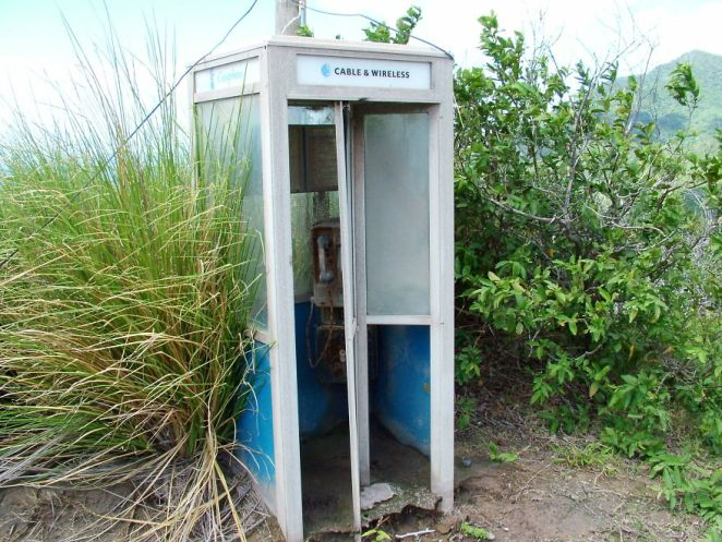 Phone Booth On The Road To Lee's Yard