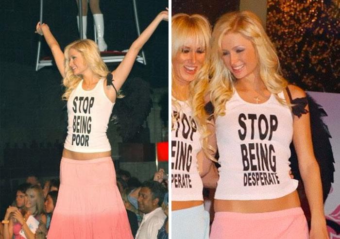 Paris Hilton's Offensive T-Shirt
