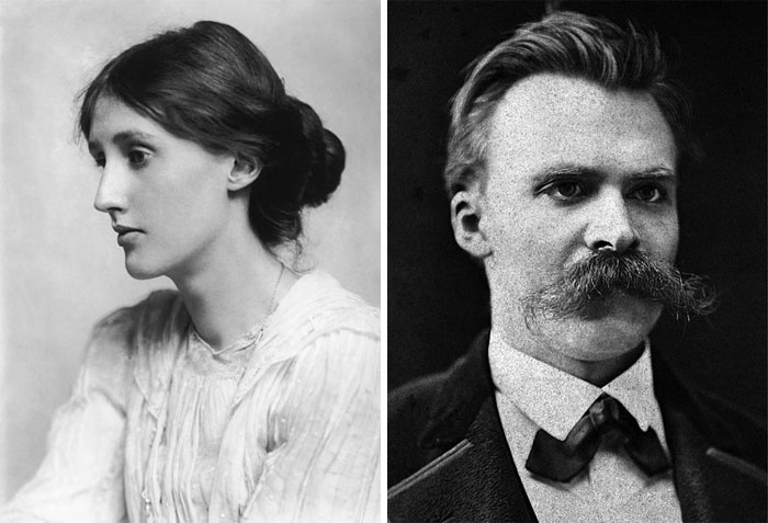 Virginia Woolf, Friedrich Nietzsche And The Standing Desk