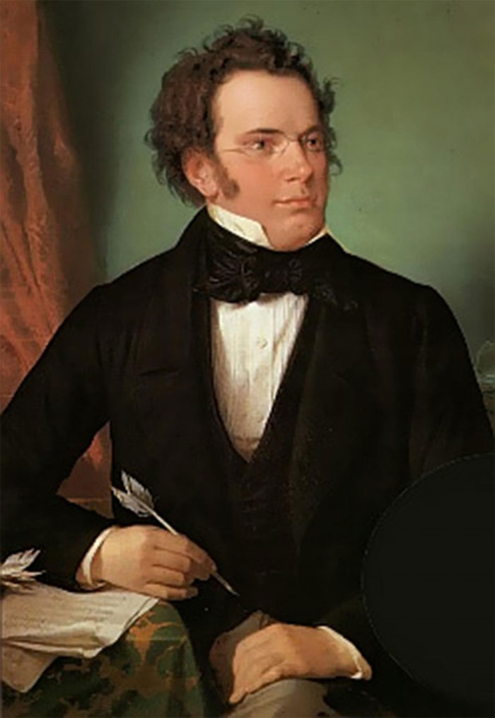 Franz Schubert And His Glasses