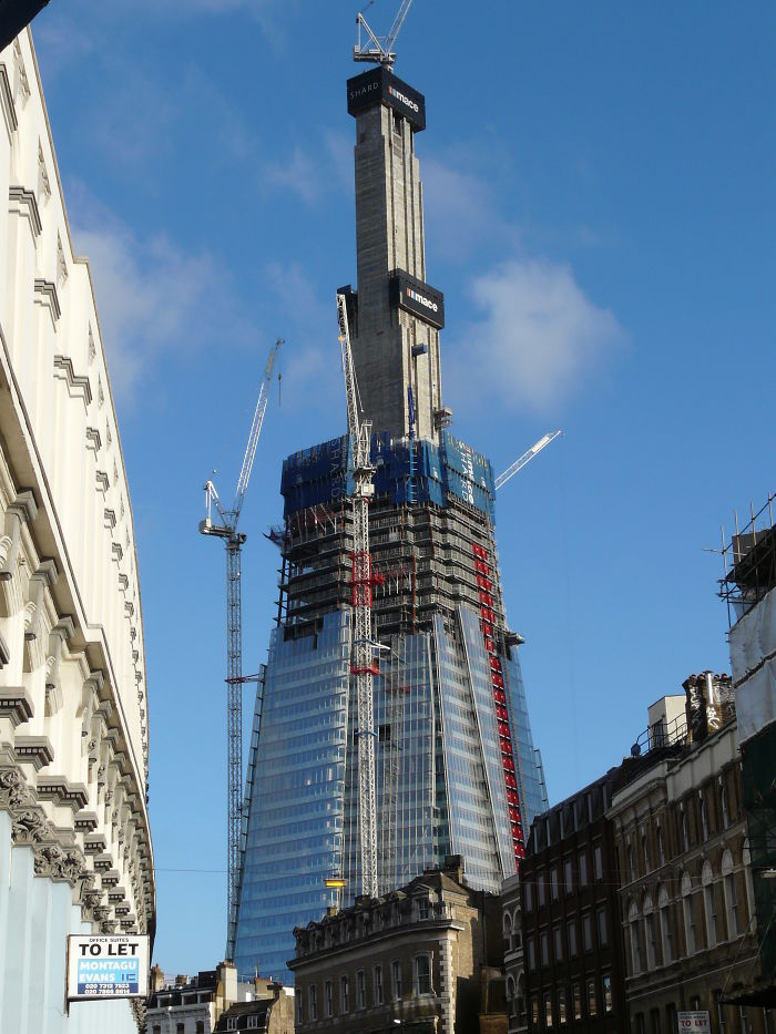 The Shard In London, The United Kingdom