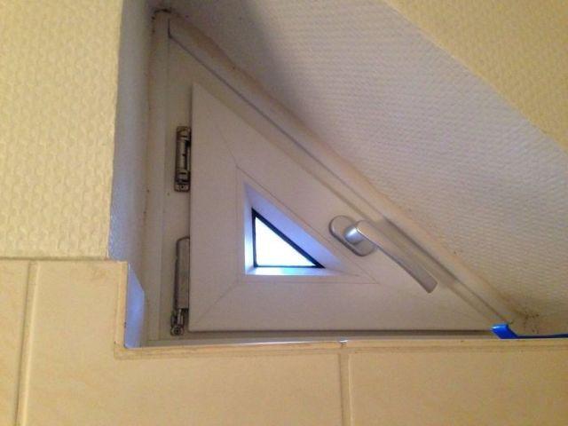 La ventanita de este baño