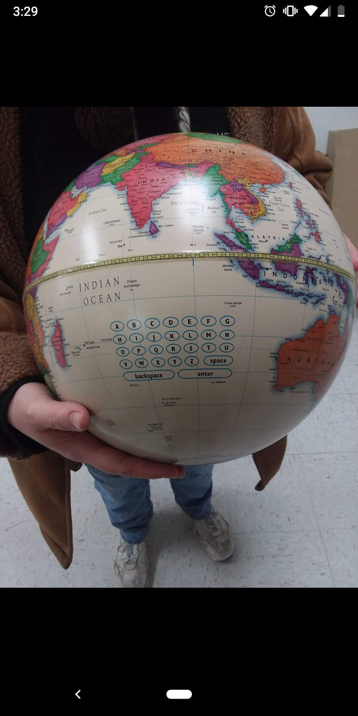 Just Type Your Search Into This.... Globe?