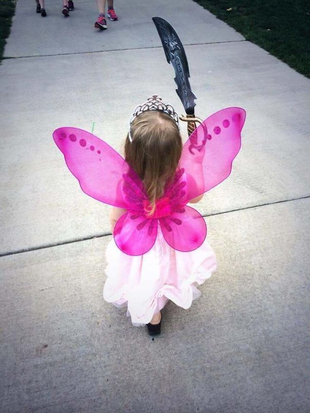 My Daughter's Personality Perfectly Expressed Through Her Outfit Choice