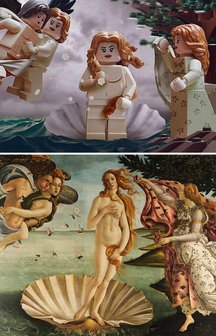 Sandro Botticelli's Birth Of Venus