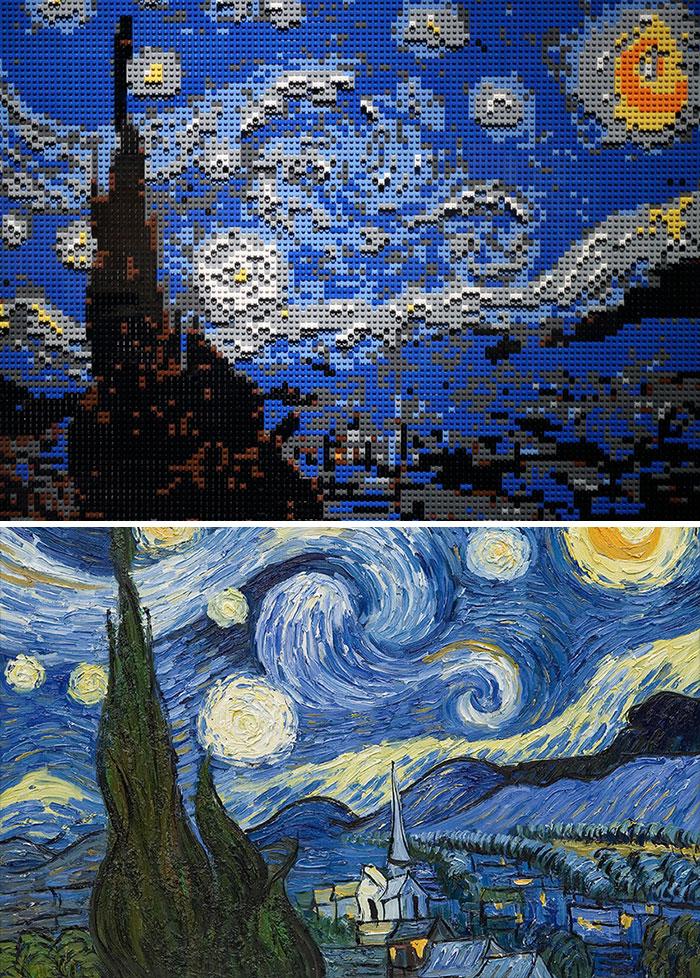 Vincent Van Gogh's Starry Night