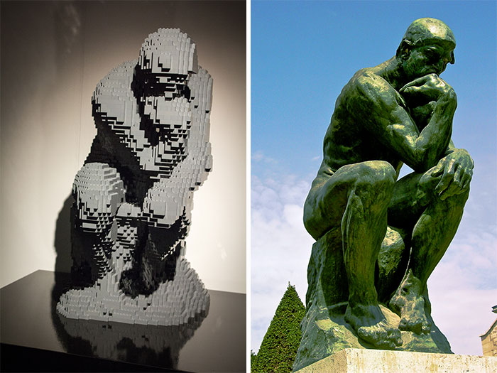 Auguste Rodin's The Thinker