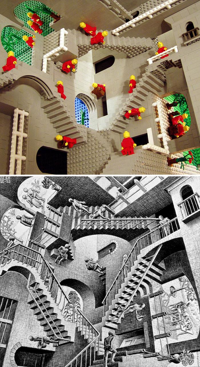 Maurits Cornelis Escher's Relativity
