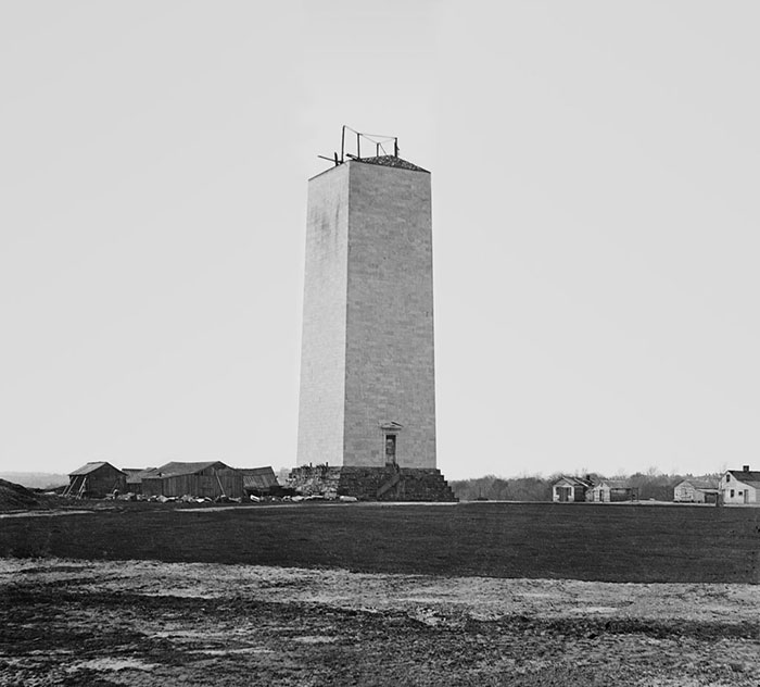 Washington Monument In In Washington, D.c., U.s.