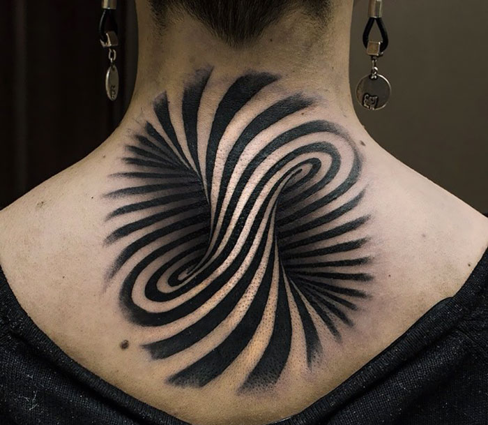 This Optical Illusion Is Perfect As A Tattoo