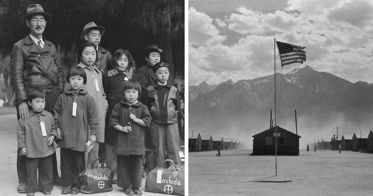 These 50 Wwii Photos From Japanese Internment Camp Were