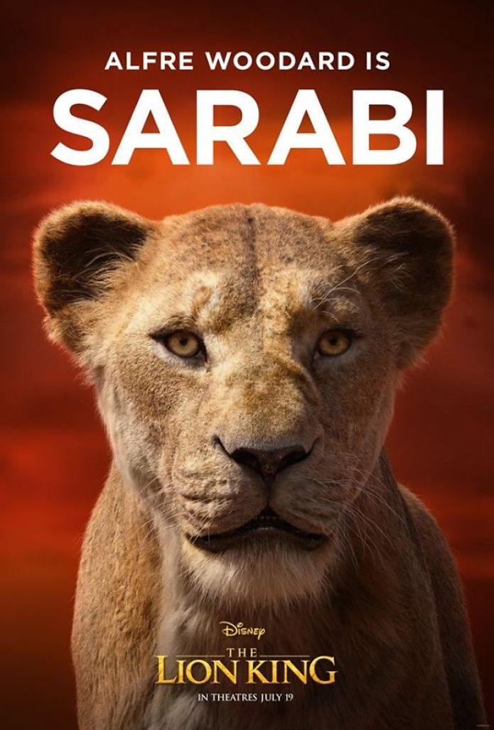 Disney Reveals Posters For 11 Main Characters In The New Lion King Movie 11