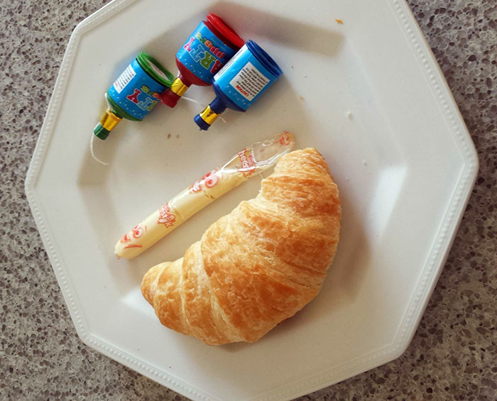 Mother's Day Breakfast In Bed, Prepared By A 5-Year-Old