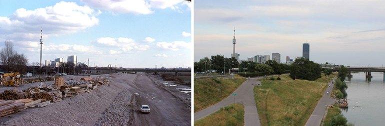Along The Danube 1980 vs. 2019