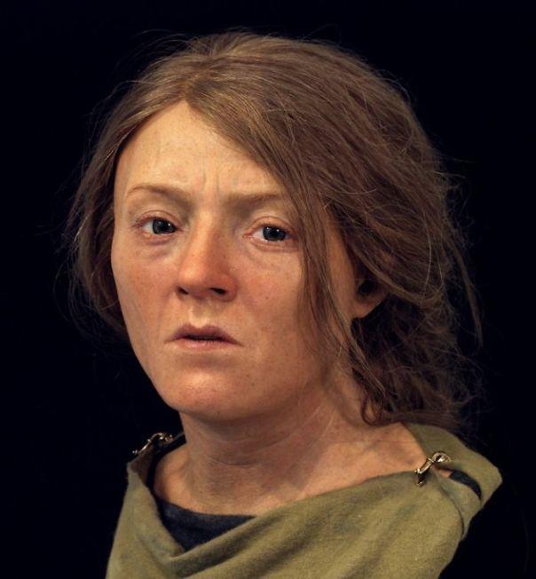 Mujer de ascendencia romano-británica