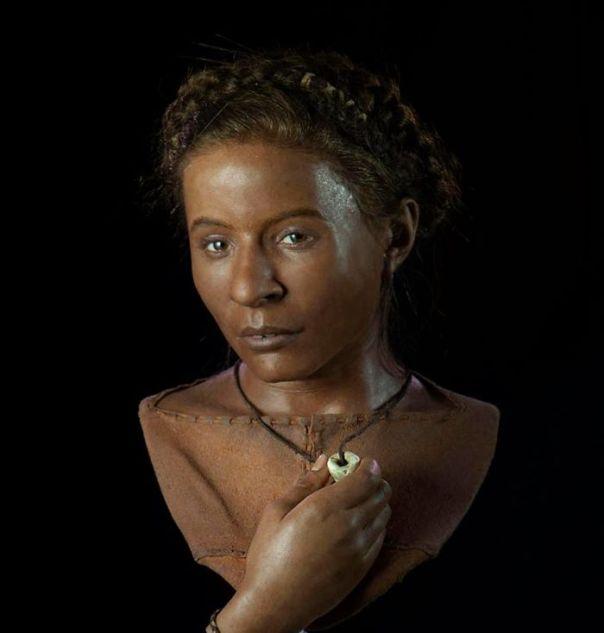 Una mujer joven que vivió en la Edad de Piedra hace unos 5500 años