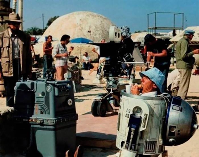 behind the scenes of hollywood movies 45 5d1ca67714fda  700 - Fotos tiradas dos bastidores de alguns filmes