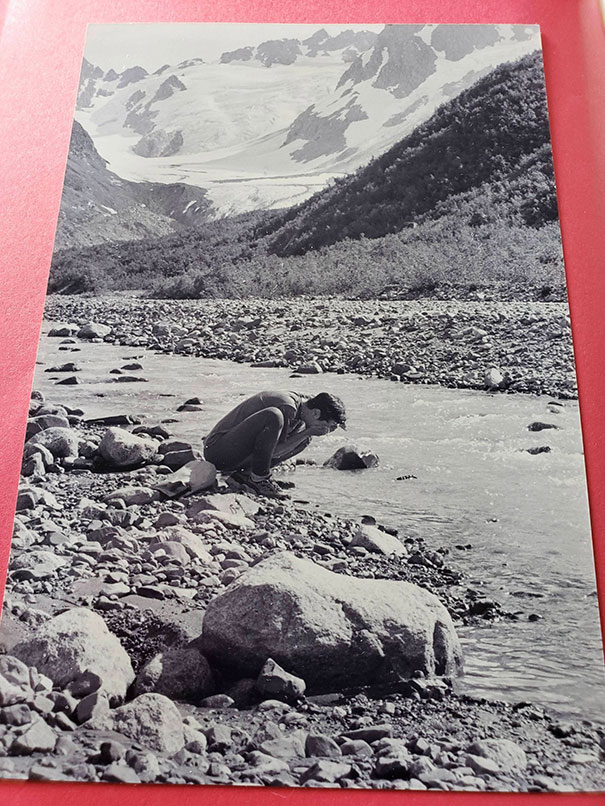"Beautiful Photo Found In A Copy Of ""Birds Of Alaska"""