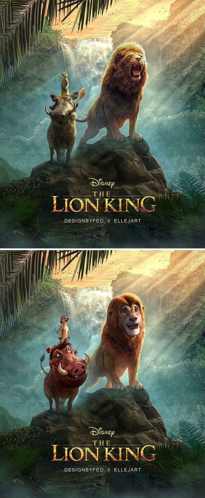 Cartaz do Promo do rei do leão